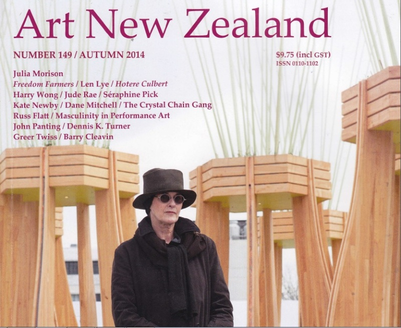 Art in New Zealand cover